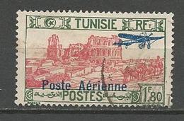 TUNISIE PA N° 8 OBL TB - Luchtpost
