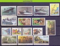 Ncf128 * SMALL ASSORTMENT * SOUTH AFRICA RSA 1982-1983 PF/MNH - Zuid-Afrika (1961-...)