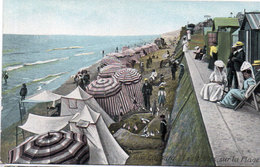 CABOURG - Les Tentes Sur La Plage    (109403) - Cabourg
