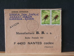 78/605   LETTRE CONGO - Insects