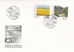 Portugal 1977 FDC Europa CEPT (DD22-19) - Europa-CEPT