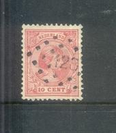 Puntstempel 128 (Zaandam) Op Nvph 37 - Periode 1891-1948 (Wilhelmina)