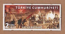 AC - TURKEY STAMP - VICTORY DAY 30 AUGUST 2018 MNH ANKARA 30 AUGUST 2018 - 1921-... République