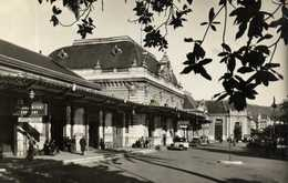 Cpsm Petit Format La Gare RV - Transport Ferroviaire - Gare