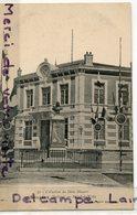 - 91 - SAILLANS - ( Drôme ), Hôtel De Ville, Cliché Peu Courant, écrite, 1906, Monument, épaisse, TTBE, Scans. - France