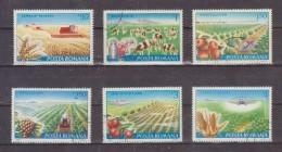 1982 - Mecanisation De L Agriculture Mi No 3873/3878 Et Yv 3388/3392+P.A.282 - Usado