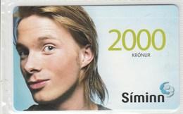 Iceland - Siminn - Man  - Mint - Iceland