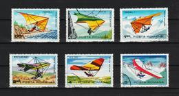 1982 -  VOL A VOILE LIBRE Mi No 3880/3885 Et  YV P.A. 276/281 - 1948-.... Repúblicas