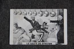 Carte Satyrique : Le Geste De SYVETON - Figuren