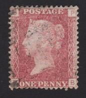 GRANDE BRETAGNE1858:   Reine Victoria: 1d Rouge Carminé (Y&T 26), Lettres B-P, Planche 188 - 1840-1901 (Viktoria)