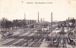 CPA FROUARD 54 - Usine Montataire Et  La Gare - Frouard
