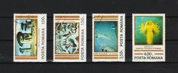 1982 - Art. Oeuvres De SABIN BALASA  Mi No 3892/3895 Et Y&T No 3400/3403 - 1948-.... Repúblicas