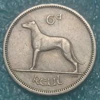 Ireland 6 Pence, 1962 - Ireland