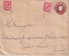 GRANDE-BRETAGNE 1931  ENTIER POSTAL LETTRE DE LONDRES - Stamped Stationery, Airletters & Aerogrammes