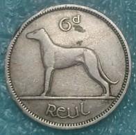 Ireland 6 Pence, 1952 - Ireland