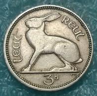 Ireland 3 Pence, 1950 - Ireland