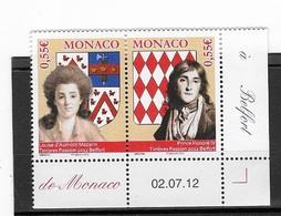 Monaco N°  2847/48** - Monaco