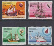 Colombia 1966 Ships 4v ** Mnh (40285E) - Colombia