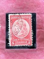 ARGENTINA 1901 OFFICIAL STAMPS OFICIAL LIBERTY HEAD TESTA DELLA LIBERTA CENT. 5c USATO USED OBLITERE' - Servizio