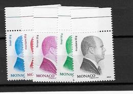 Monaco N°  2851 à 2855** - Monaco