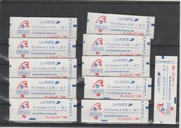 France Carnets 2376-C12A Neufs ** Fermés - Carnets