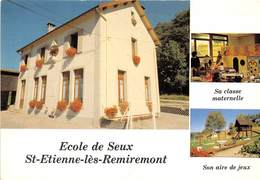 88-SAINT-ETIENNE-LES- REMIREMONT- ECOLE DE SEUX - MULTIVUES - Saint Etienne De Remiremont