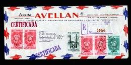 A5591) Venezuela R-Brief 15.9.53 N. Hagen / Germany - Venezuela