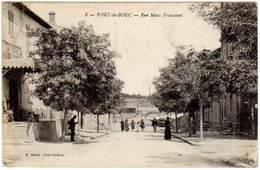 Cpa Port De Bouc - Rue Marc Fraissinet - France