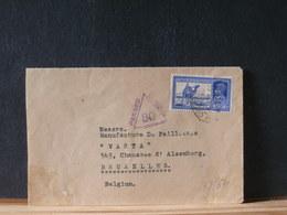 78/670      LETTER INDIA TO BELG. CENSOR - India (...-1947)