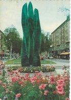 "Statue ""Grön Eid"". Vicky Lindstrand, Järnvägstorget, Umeå Sweden.  # 07366 - Sculpturen"