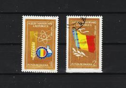 1982 - 35 Anniv. De La Republique Mi No 3931/3932 Et Yv 3416/3417 - 1948-.... Republics
