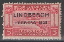 Cuba - YT PA 2 * - 1928 - Poste Aérienne