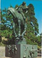 """Statue   Carl Milles.  """"Folke Filbyter""""  Millesgården / Lidingö   Sweden.  B-3151 - Sculptures"""