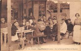 33-CAP-FERRET- CÔTE D'ARGENT- SUR LA TERRASSE DE L'HÔTEL DE BAYONNE - France