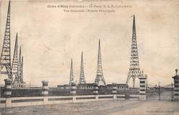 33-CROIX-D'HINS- LE PORTE T.S.F. LAFAYETTE , VUE GENERALE , ENTREE PRINCIPALE - France