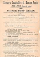 MONS En PEVELE ( 59 ) - Hameau De SECMONT - BRASSERIE  COOPERATIVE - France