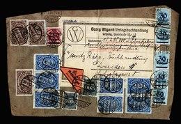A5592) DR Infla Adressträger Nachnahme-Drucksache Bis. 500g Leipzig 21.9.23 - Deutschland
