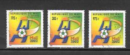 TIMBRE OBLITERE DU MALI DE 2002 N° MICHEL 2578 2580 2583 - Mali (1959-...)