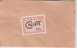 France Fiscal CNIPT Sur Carte Du Producteur 27680 Saint Ouen Des Champs - Fiscali