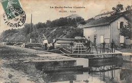 Selles écluse Péniche Péniches Canton Vauvillers - France