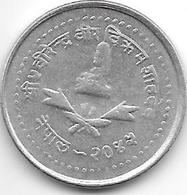 *nepal 25 Paisa VS2042  Km 1015.1 - Népal