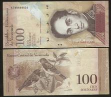 Venezuela 100 Bolivares 2015 Pick 93 UNC - Venezuela