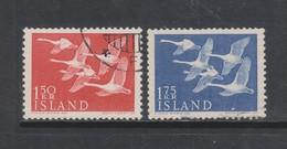 Yvert 270 / 271 Oblitéré - 1944-... Republique