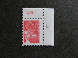TB  Timbre N° 3083, Neuf XX. Pub Supérieure De La Poste. - Advertising