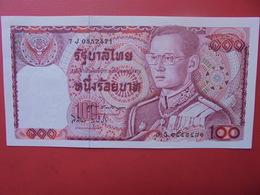 THAILANDE 100 BATH PRESQUE UNC - Thailand