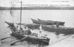 33-LA-TESTE-DE-BUCH- DEPART POUR LA PÊCHE A L'OCEAN - France