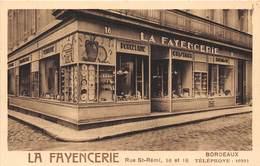 33-BORDEAUX- LA FAYENCERIE RUE SAINT-REMI 16 ET 18 - Bordeaux