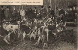 """Forêt De VIBRAYE  Chasseà Courre (Equipage """"Rallye-Sillé""""  La Curée - Hunting"""