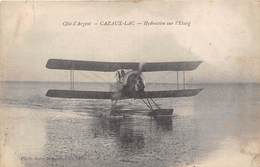 33-CAZAUX-LAC- HYDRAVION SUR L'ETANG - France