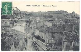 Cpa Saint Chamas - Place De La Mairie - Otros Municipios